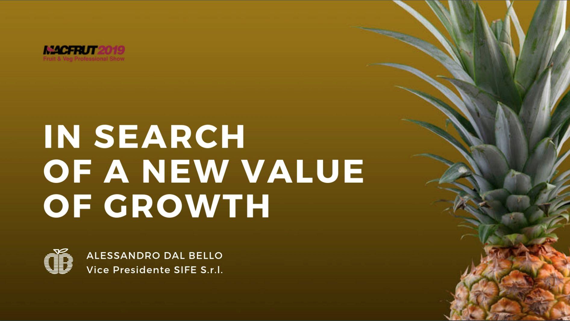 Ananas - Alessandro Dal Bello parla del mercato mondiale dell'ananas