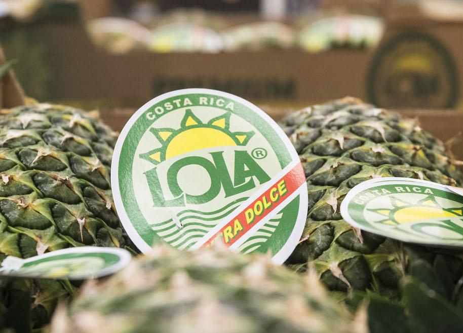 LOLA - Marchio prodotti Dal Bello SIFE - ananas e banana